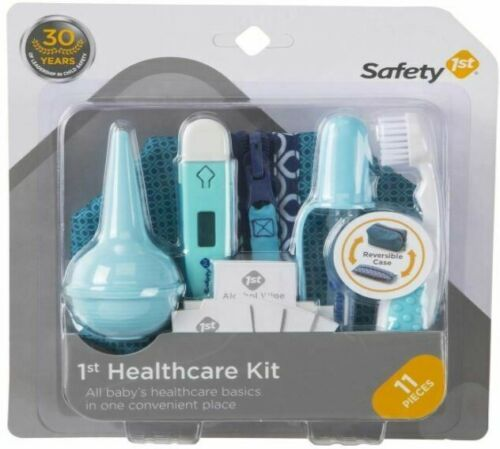 Safety 1st First 11-Piece Baby Healthcare Kit Turqouise New & Sealed Package