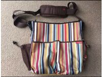 Skip Hop Duo Deluxe Uptown Stripe baby changing bag