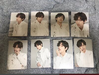 BTS Official Mini PhotoCard V - Taehyung All set SPEAK YOURSELF THE FINAL