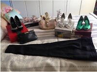 Size 2 & 3 shoes & evening bags