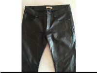 Bel air leather trousers NEW size big 8 / 10