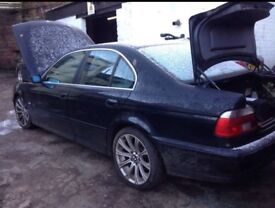 Breaking For Parts Bmw E39 530d
