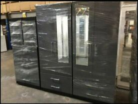 🔥🚚STOCK CLEARANCE SALE🔥 BEDROOM SET INCLUDES WARDROBES, CHEST OF DRAWERS AND BEDSIDE IN COLOURS