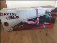Razor e90 electric pink scooter