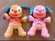 2 x fisher price laugh and learn puppies Smeaton Hepburn Area Preview