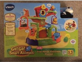 Vtech GoGo Smart Animals Tree House Hideaway Set