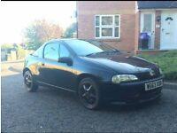 Vauxhall Tigra 1.6 16v black, bargain