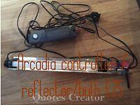 Arcadia controller bulb and reflector
