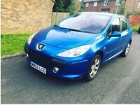 Peugeot 307 DIESEL 1.4 engine 12month mot £30 road tax 12month tax 2owner only