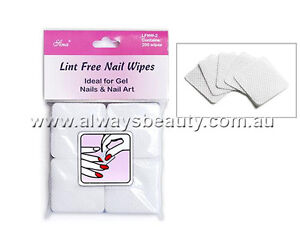 Nail-Polish-Remover-Wipe-Gel-Wipers-200pc-100-Lint-Free-Pads