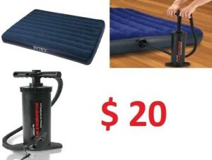 Inflation bed (hand pump included)