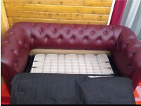 Like new Chesterfield sofa bed