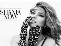 Shania Twain Tickets x2 GLASGOW