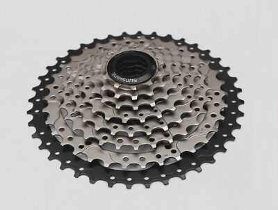 Beautiful Sunshine Mtb Bicycle 9 Speed 11-32t Cassettes Mountain Xc Am Bike 9s Cassette Terrific Value Cassettes, Freewheels & Cogs Bicycle Components & Parts