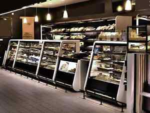 Pastry Bakery Gelato, Deli Display cases, Coolers Freezers
