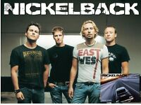 Nickelback Standing Tickets £30 each