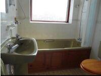 Used old bathroom suite - free