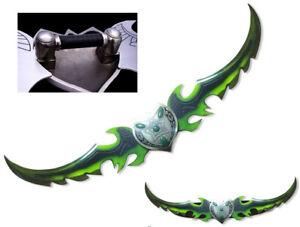 World of Warcraft WOW 125cm 1:1 twins blade Warglaive of Azzinoth Halloween Xmas