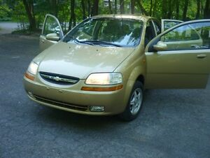2004 Chevrolet Aveo LS Berline