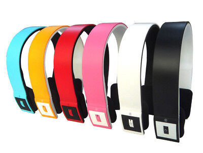 Wireless Bluetooth Headset Stereo Over Ear Headband Headphones With Mic | Iphone