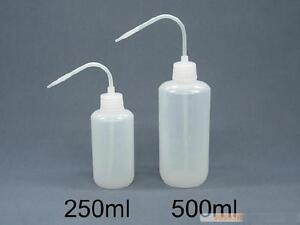 250ml 500ml wash bottle lab plastic squeeze tattoo for Washing a new tattoo