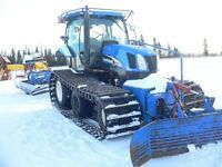 2006 New Holland TS115 Groomer and tractor