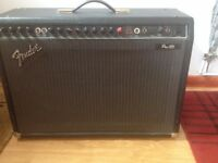 FENDER PRO 185 (2x12 160watt) with FOOTSWITCH and FLIGHTCASE. £160.