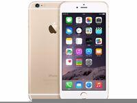 Apple iPhone 6plus 16gb white&gold