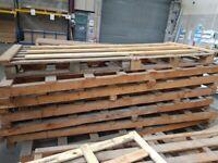FREE 260cm long pallets / reclaimed wood