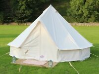 Bell tents 5m - Used in good condition. Ex glamping site tents