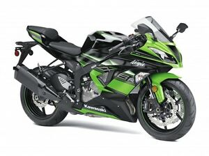 2017 Kawasaki NINJA ZX 6R ABS KAWASAKI RACING TEAM EDITION