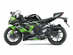 2017 KAWASAKI NINJA ZX 6R ABS KAWASAKI RACING TEAM EDITION / 30$