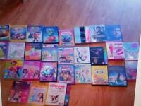 Over 35 original dvds