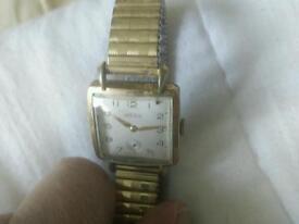 Antique art deco gents wristwatch