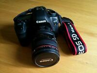 Canon 5D MkII with Canon 24-105 L Series Lens & hood