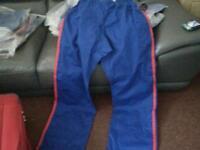 Kickboxing pants job lot size 7 200cm
