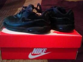 Original black Nike trainers for kids