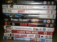 DVD bundle comedy*sold pending collection*