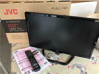 """JVC 22"""" TV/DVD Combo 1080p Boxed As New"""