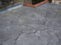get that leaking roof fixed before the snow!