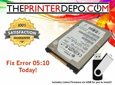 Hp Designjet 800ps Hard Drive For C7779-69272 New Firmware Upgrade Usb