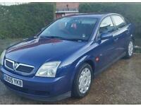 Vauxhall vectra life.7 months mot..runs like a dream.2005