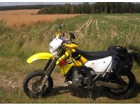 DRZ 400 S supermoto and dirt wheels