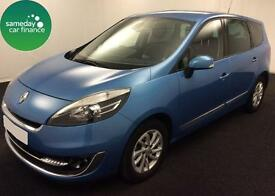 £182.72 PER MONTH BLUE 2012 RENAULT GRAND SCENIC 1.5 DYNAMIQUE TOMTOM 7 SEAT