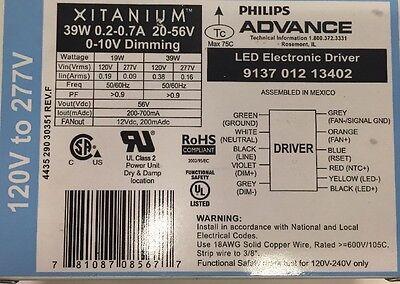 Advance Xitanium 39 Watt Dimmable Led Driver Module 120 - 2 77 V