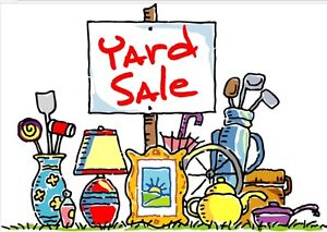 Yard  Sale on  Sat.  May 27th, 29 Culham Dr. Cambridge  8-12