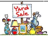 Yard/garage sales