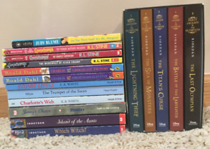 Percy Jackson Boxed Set + Misc. Kids Books