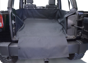 Dirtydog 4X4 Cargo Liner With Side-Subwoofer For 2007-16 Jeep Wr