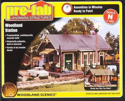 NEW Woodland Scenics Woodland Station N PF5207